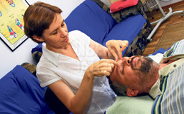 Durerile de cap, tratate cu masaj shiatsu