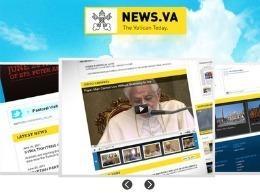 Ватиканский портал news.va отмечает первую годовщину