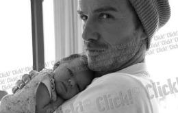 La doar 9 luni, Harper, fiica lui David Beckham, a primit o oferta de job
