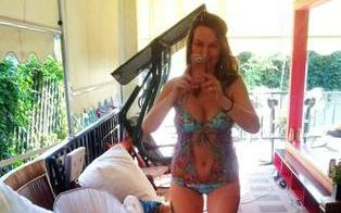 Anna Lesko ESTE SENZAŢIONALĂ! Iat-o ÎN COSTUM DE BAIE, la nici 5 luni de când a născut