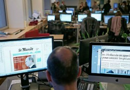 Armata electronică siriană piratează contul de Twitter al cotidianului francez Le Monde