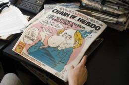 Aşa va arăta COPERTA revistei Charlie Hebdo de MÂINE. Va fi imprimată în trei milioane de exemplare