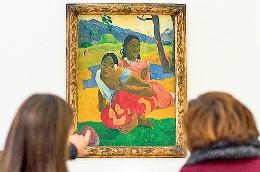 Un tablou semnat Gauguin, cea mai scumpă operă de artă