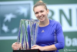 Simona Halep a câștigat turneul de la Indian Wells