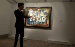 Cel mai scump tablou scos vreodată la licitaţie! Uite cum arată pictura de 140 de milioane de euro! FOTO
