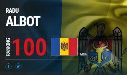 Radu Albot a devenit astăzi primul moldovean din istorie prezent în TOP 100 ATP