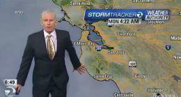 Surprins de cutremur în direct! Reacţia unui meteorolog, când simte cum se mişcă pământul // VIDEO