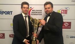 """Aaron Cook, desemnat de APSM cu titlul de """"Cel mai bun sportiv moldovean al anului 2015"""""""
