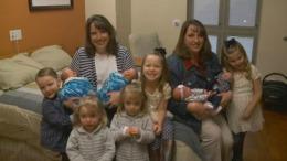"""Performanță uluitoare! Cinci perechi de gemeni născuți într-o familie din SUA: """"Trăim un miracol"""""""
