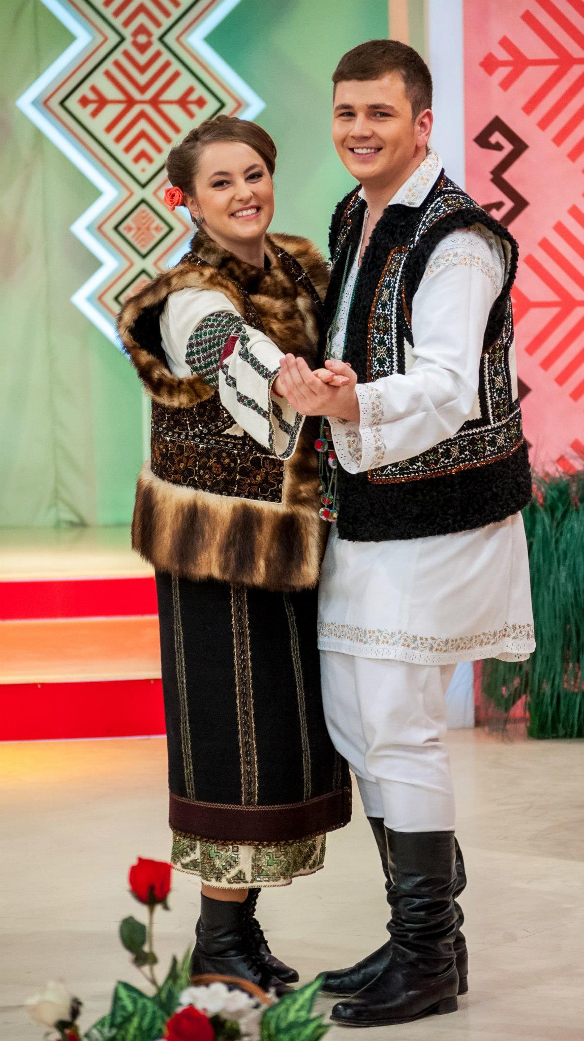 Cu ANDREEA HAISAN, colega de cantec de la Suceava