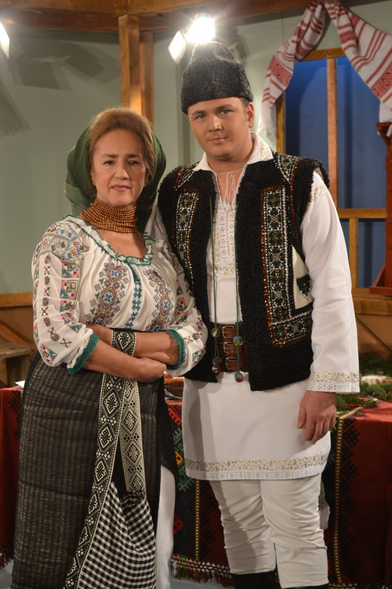 Cu Doamna SOFIA VICOVEANCA, la o emisiune TVR