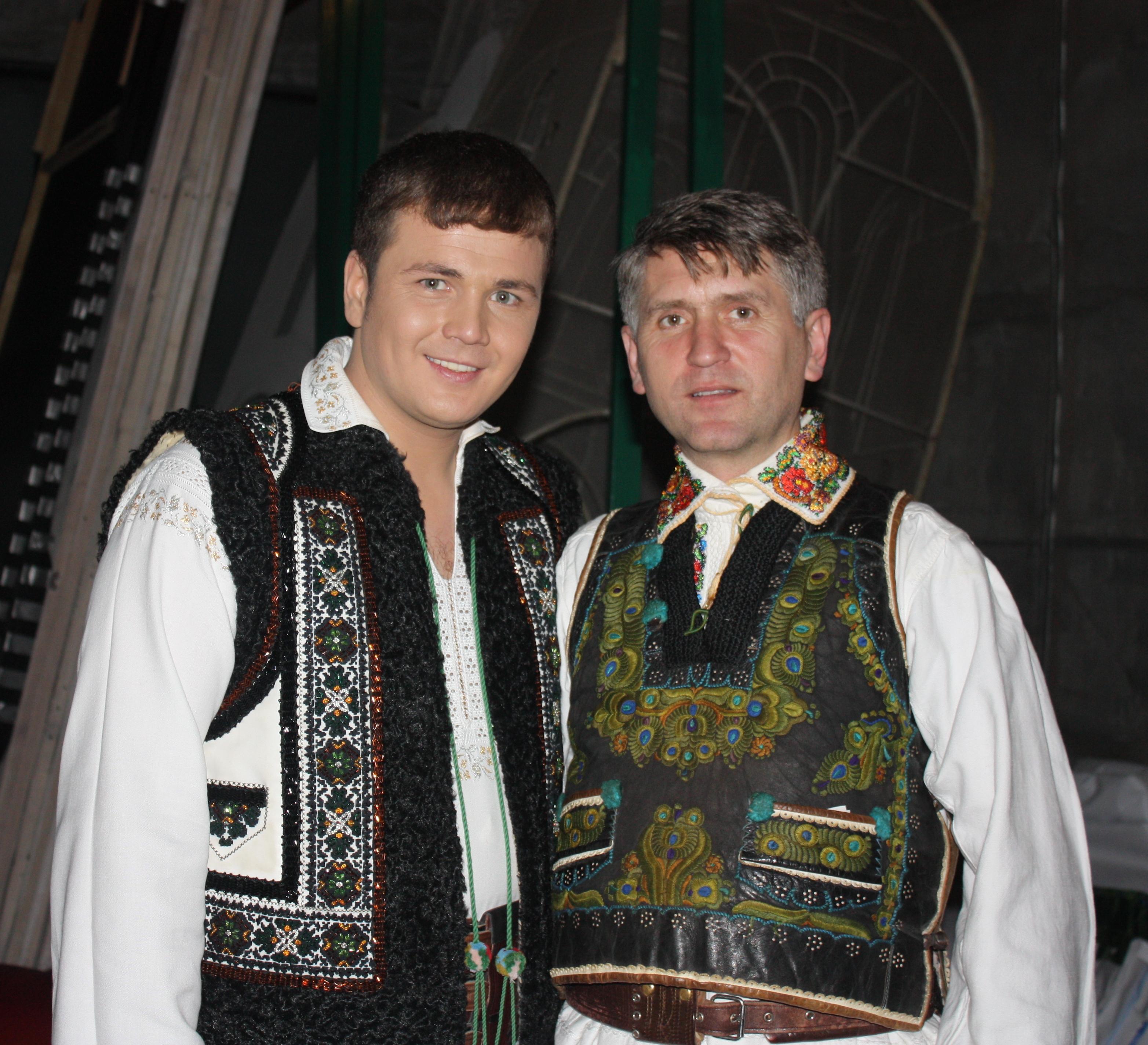 Cu duhovnicul si interpretul CRISTIAN POMOHACI