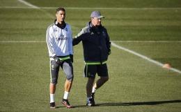 Cristiano Ronaldo și-a permis să fie obraznic cu fostul antrenor al lui Real