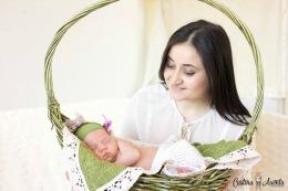 Corina Ţepeş ne-o prezintă pe Ioana, cel mai nou membru al familiei sale // FOTO