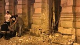 Explozia din centrul Budapestei, cauzată de o bombă artizanală. Poliția a reținut un suspect