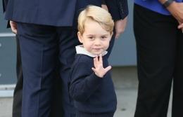 I-a înduioșat pe toți! Cum a reacționat Prințul George când a părăsit Canada