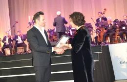 """Alex Calancea a primit premiul """"Gavriil Musicescu"""""""