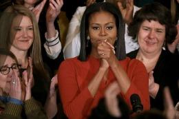 Michelle Obama, în lacrimi! Ce melodii i-a cântat Stevie Wonder