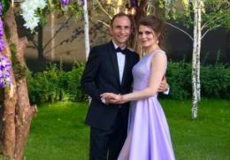 Veronica şi Ion Paladi, din nou naşi