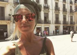 """Olesea Olteanu, cu fiica pe """"Coasta de Aur"""" a Spaniei // FOTO"""