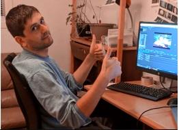 """Povestea lui Ion Cebotari, inginerul care a ecranizat """"Luceafărul"""" în Canada // FOTO"""